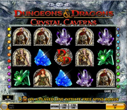 Dungeons and Dragons: Crystal Caverns